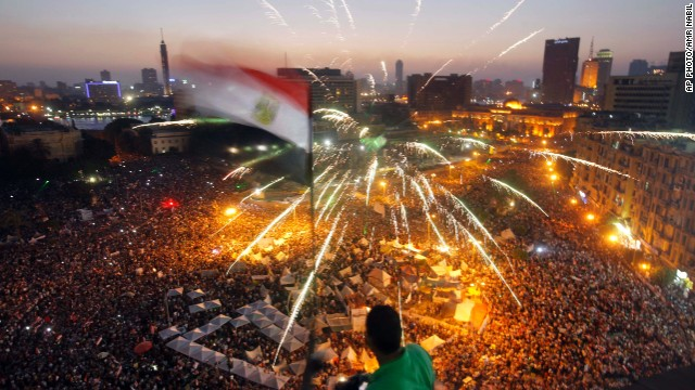 Protesters to Egypt's Morsy: You have one day to step down - CNN.com