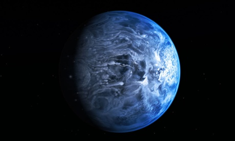 Hubble telescope discovers alien 'deep blue' planet | Science | The Guardian