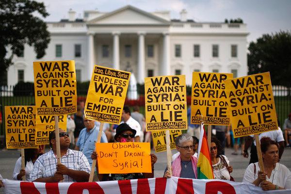Obama Set for Limited Strike on Syria as British Vote No - NYTimes.com