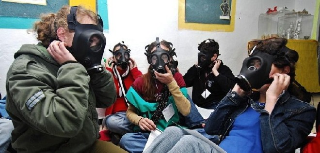 Israeli Gas Mask Distribution Ramps Up Amid Syria Escalation, Suspected Chemical Weapons Use | TheTower.org