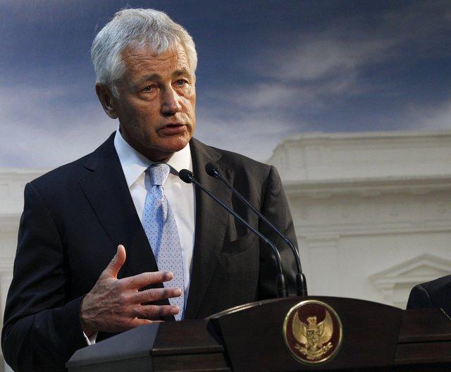 Defense Secretary Chuck Hagel: No U.N. approval needed for Syrian strikes - Washington Times