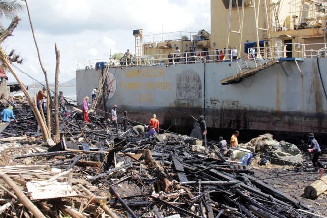 Yolanda survivors moved from oil spill | Manila Bulletin | Latest Breaking News | News Philippines