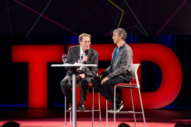 Computing is still too clunky: Q&A with Charlie Rose and Larry Page   TED Blog