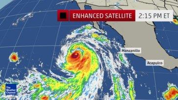 Monster hurricane heading toward southern California – not