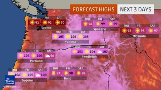 Sizzling Temperatures Grip Both Coasts as July Transitions to August - weather.com