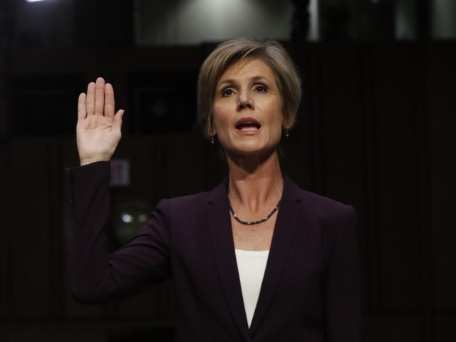 Sally Yates (Pablo Martinez Monsivais / Associated Press)