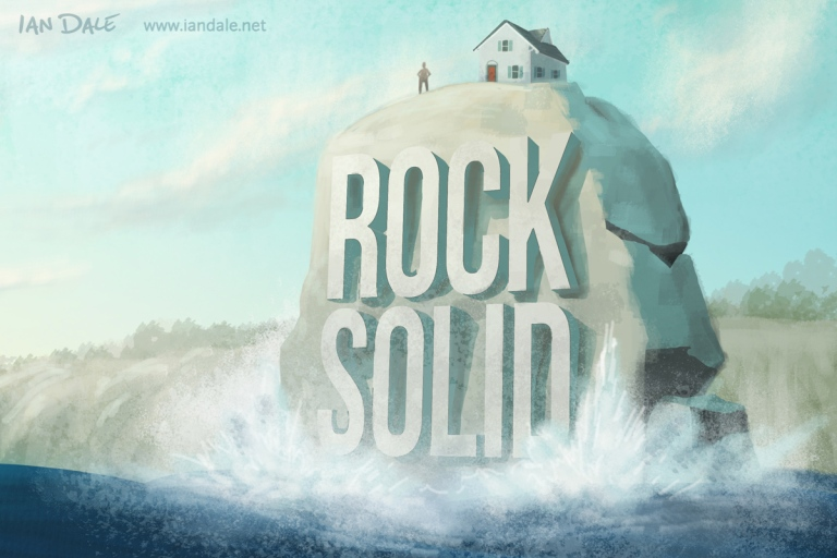 """Image result for house built upon the rock"""""""