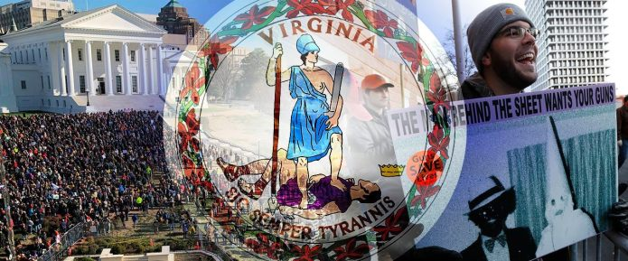 Gun-rights advocates swarm Virginia's Capitol for Second Amendment rally