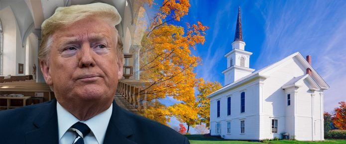 Trump announces that houses of worship are 'essential,' demands governors open them up