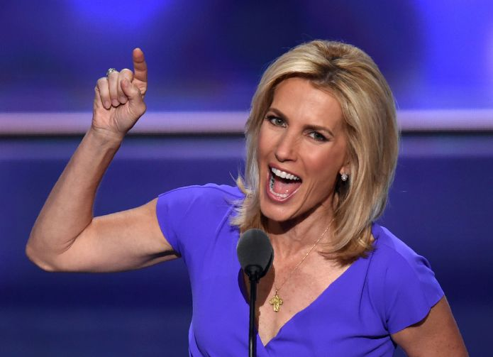 Laura Ingraham taking a break as advertisers flee her show